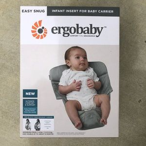 Ergobaby infant insert for ergo baby carriers